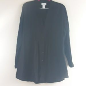 Like New Soft Surroundings Button Down Top